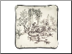 "Bouvier 18"" Square Pillow"