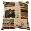 Bennington 17 x 17 Decorative Pillow - Moss