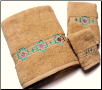 Chimayo SW 3 pc. Towel Set - Gold