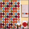 Dot Swirl Multi Bath Accessories