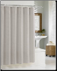 Hotel Waffle - Grey Shower Curtain