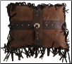 Wyoming Cross Concho  Pillow