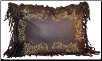 Chocolate Scroll Pillow