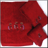 Kokopelli Southwest Embroidered Towel Set Collection