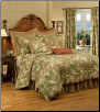 "La Selva Natural California  King Comforter Set w/18"" Bedskirt"
