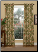La Selva Natural Grommet Curtains