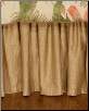 "La Selva Natural California King 15"" Bedskirt"