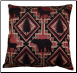 Larsmont 17 x 17 Decorative Pillow, Brick