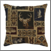 Mountain View 17 x 17 Decorative Pillow