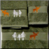 Moose in the Trees Towel Set Collection