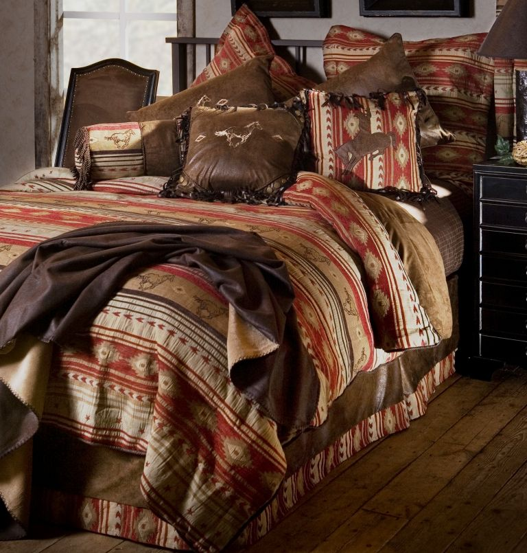 flying horse by carstens home western bedding comforter sets